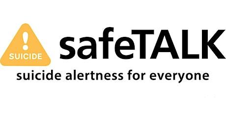 SafeTALK Suicide Alertness For Everyone tickets
