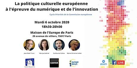 La politique culturelle européenne à l'épreuve du numérique billets