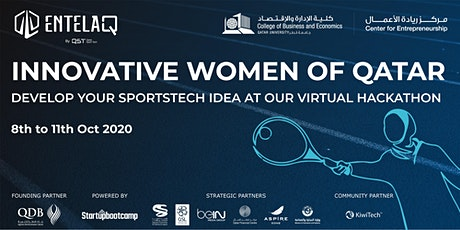 Innovative Women of Qatar - Qatar SportsTech Virtual Hackathon tickets