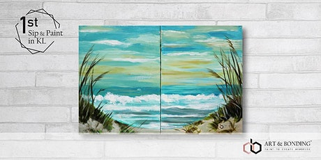 Sip & Paint Date Night : TEXTURED SEASCAPE tickets
