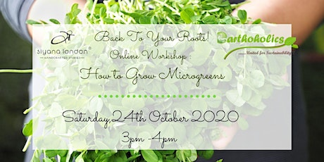 Learn to grow Microgreens online workshop tickets