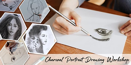 Charcoal Portrait Drawing Workshop tickets