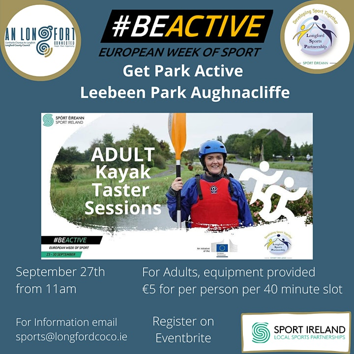 Leebeen  Park - Adult Kayak Taster Sessions image