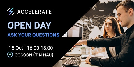Open Day - Ask Your Questions | Xccelerate tickets