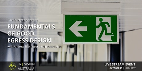 IG VISION Australia | Fundamentals of Good Egress Design tickets
