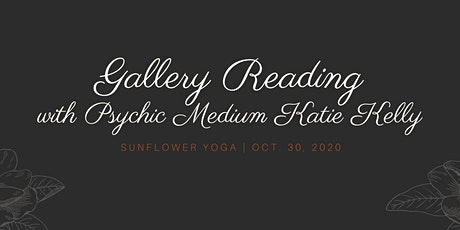 Halloween Gallery Reading with Psychic Medium Katie Kelly tickets