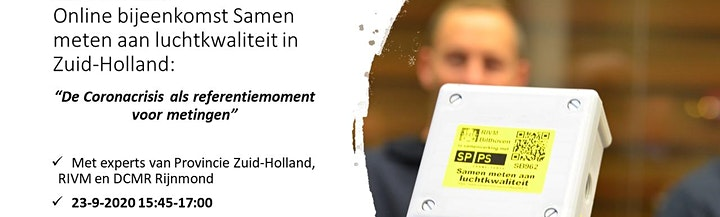Citizen science in Zuid-Holland: de Coronacrisis als referentiemoment image