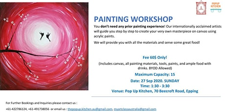 Social Painting in Epping tickets