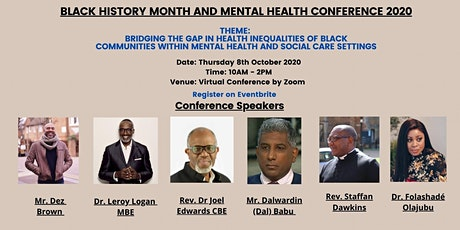 Inequalities of Black Mental Health and Social Care tickets