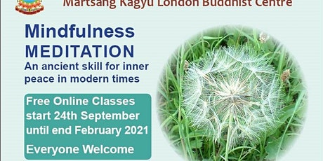 Ancient Meditation Teaching for Modern Times tickets