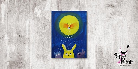 Sip & Paint MY @ Hubba Mont Kiara : Moon & Bunny tickets