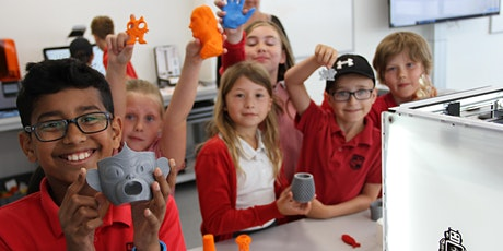 Online led 3D printing workshop for Primary schools tickets