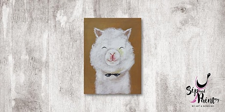 Sip & Paint MY @ Hubba Mont Kiara : Fluffy Alpaca tickets