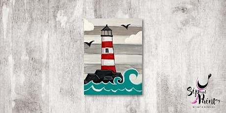 Sip & Paint MY @ Hubba Mont Kiara : Lighthouse Beach tickets