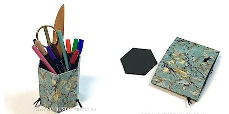 Box Making - Foldable Pen Holder (online) tickets