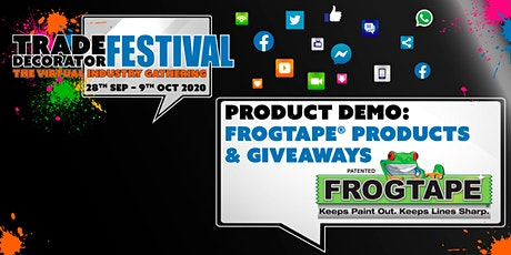 Product Demo: FrogTape® & Great Giveaways tickets