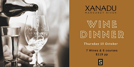 Xanadu Wine Dinner tickets