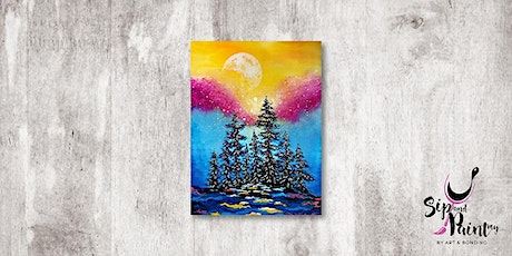 Sip & Paint MY @ Ampang :  Moonrise Sparkle tickets