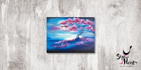 Sip & Paint MY @ Ampang :  The Pink Tree tickets