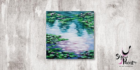 Sip & Paint MY @ Ampang :  Water Lilies Pond by Monet tickets