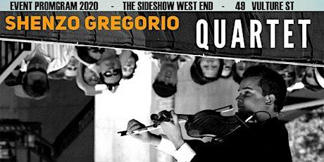 Sideshow Gyspy Jazz with the Shenzo Gregorio Quartet tickets