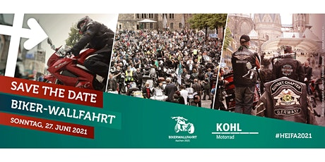 Biker-Wallfahrt am 27.6.2021 Tickets