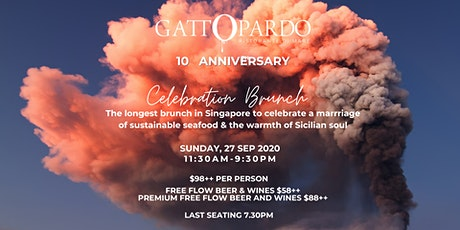 Longest Brunch in Singapore - Sustainable Seafood, Sicilian Way tickets