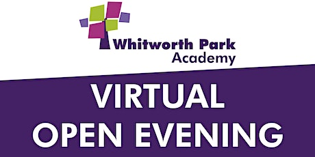 VIRTUAL OPEN EVENING - Thursday 24th September starting at 6pm tickets