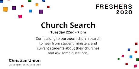 Church Search tickets