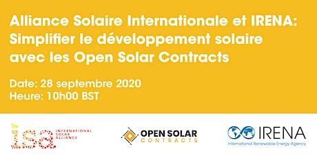 ISA-IRENA: Simplifier le développement solaire, les Open Solar Contracts billets