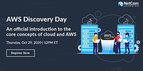 LIVE Virtual Event - AWS DISCOVERY DAY tickets