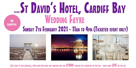voco St David's Hotel Cardiff Wedding Fayre - Sunday February 7th 2021 tickets