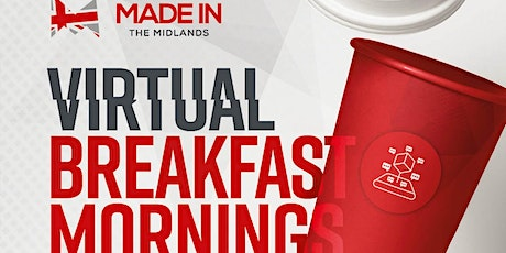 Made in the Midlands Virtual Breakfast Morning with Citizen Machinery tickets