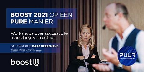 BOOST 2021 OP EEN PURE MANIER tickets