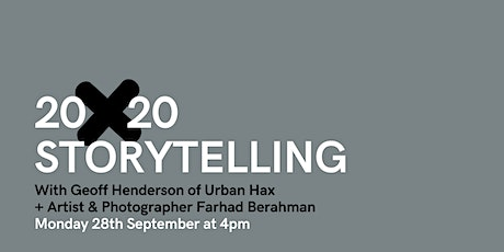 20x20 storytelling with Geoff Henderson + Paul Mason tickets