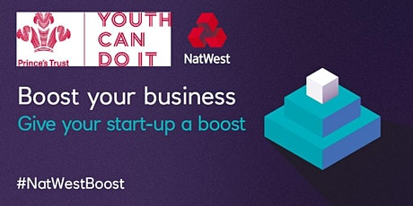 Business Support Clinic with The Princes Trust #NatWestBoost #Derby #Notts tickets