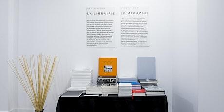 Cocktail vernissage Exposition REGARDS - André CARRARA, photographe de mode billets