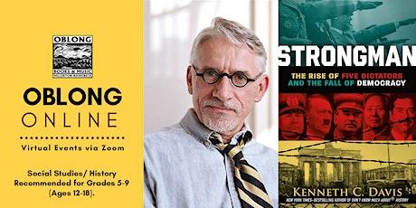 OBLONG ONLINE: Hudson Valley YA Society - Kenneth C. Davis tickets