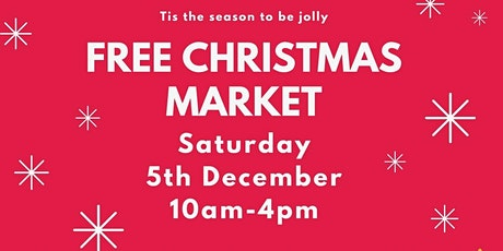 Free Christmas market with lots of locally made arts,  crafts & gifts tickets