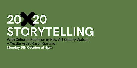 20x20 with curator Deborah Robinson + textile artist Karen Garland tickets
