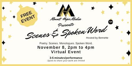Scenes & Spoken Word Open Mic tickets