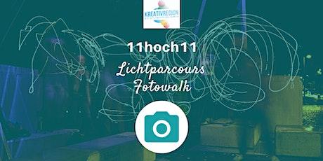 11hoch11 Lichtparcours Fotowalk Tickets