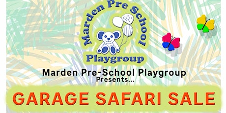 Marden Pre-School Garage Safari tickets