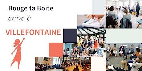 Lancement de Bouge ta Boite à Villefontaine billets