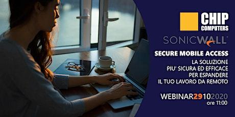 SonicWall - Secure Mobile Access biglietti