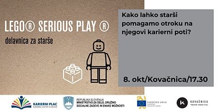 LEGO® SERIOUS PLAY ® delavnica za starše tickets