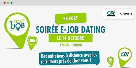 E-Job Dating Franche-Comté : décrochez un emploi ! billets