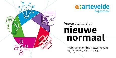 Webinar en online netwerkevent: Veerkracht in het nieuwe normaal tickets