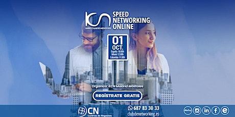 SPEED NETWORKING. Multiplica tu Red de Contactos. 1- Oct boletos