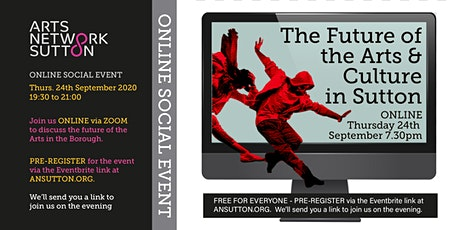 ANS Online Social The Future for Arts in The Borough tickets